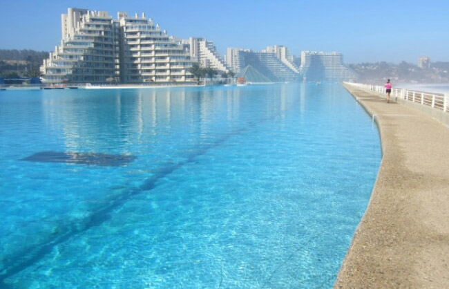 A maior piscina do mundo