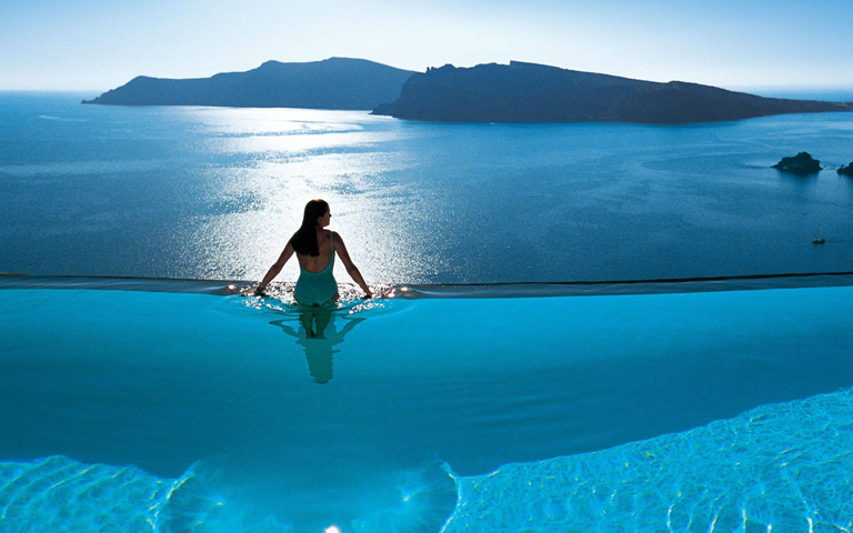Perivolas, Santorini, Grécia